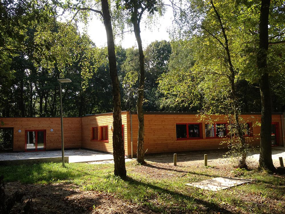 Câblage électrique de la nouvelle salle des fêtes du Bois du Roule à Darnétal