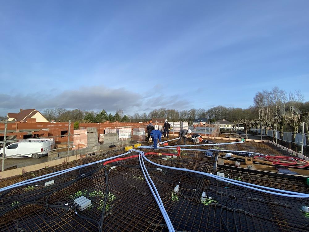 Construction de 26 Maisons neuves au Hameau du bois du Roule à Darnetal (Rouen)