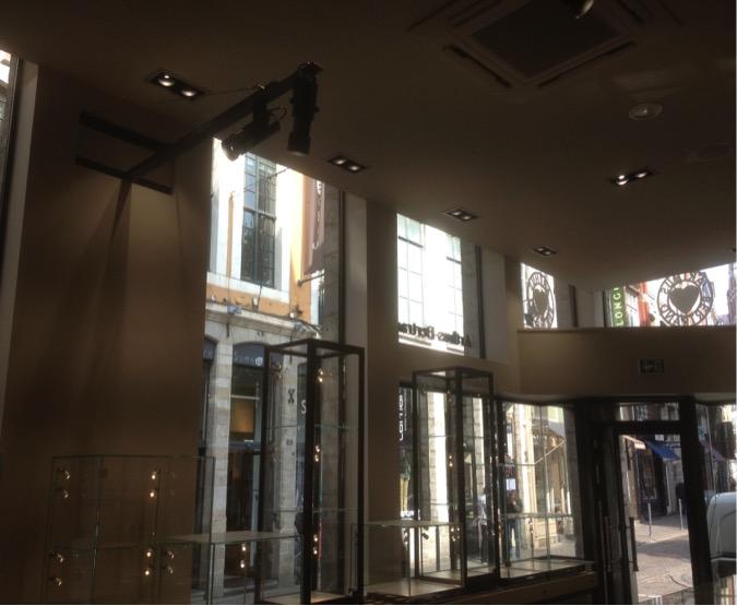 Projet d'éclairage intérieur en électricité à Deauville