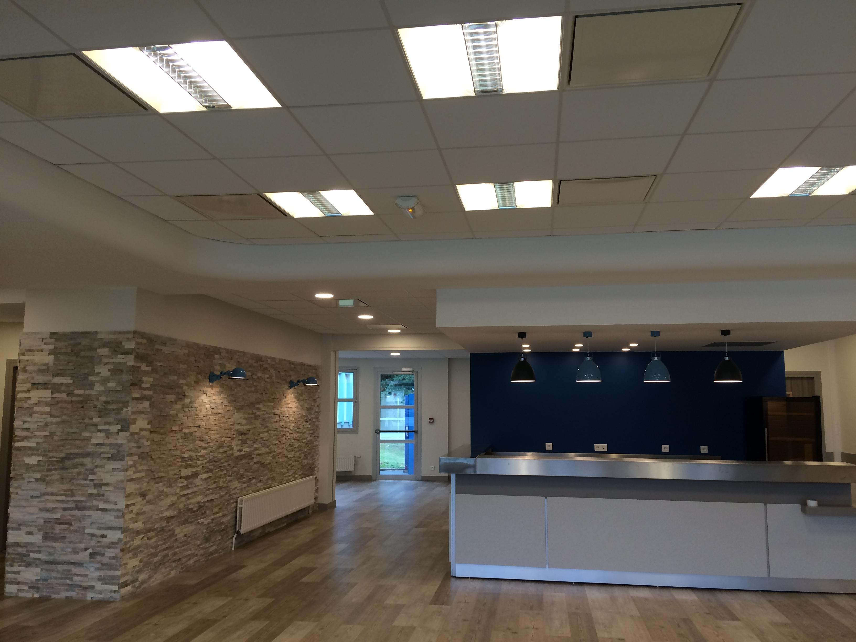 L'entreprise d'électricité générale Sedelec électricité a été missionnée pour effectuer la rénovation et l'installation électrique complète du restaurant pédagogique IFA à Mont-Saint-Aignan (Secteur Rouen - Seine-Maritime)