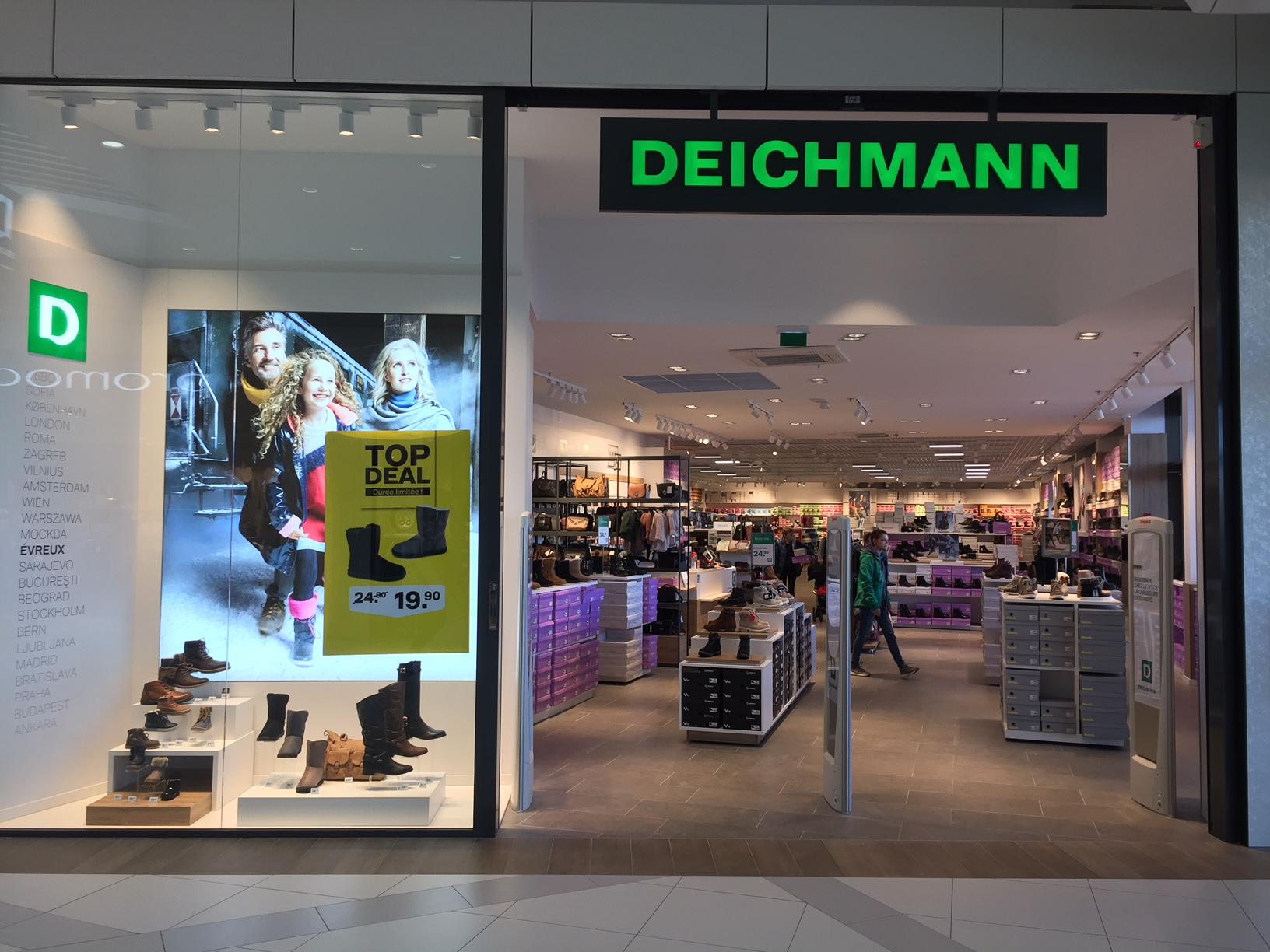 Notre société spécialisée en courant fort et courant faible installé à Darnétal à 4 kilomètres de Rouen à participé à la rénovation électrique et l'installation du magasin Deichmann à Evreux. Toute l'électricité a été gérée par notre société.