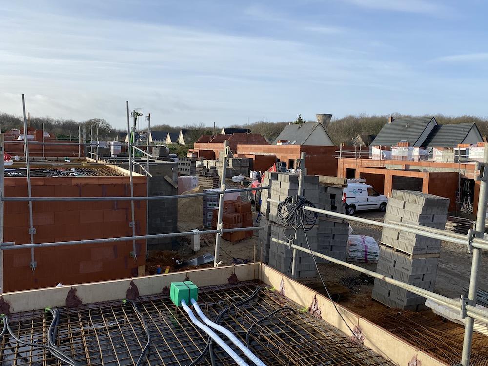 Construction de 26 Maisons neuves au Hameau du bois du Roule à Darnetal